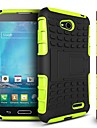 Dual color Antiskid Detachable 2 in 1 PC and TPU Hybrid Case with Kickstand for LG L90(Assorted Colors)