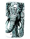 padrão animal elefante fina cobertura caso difícil para Samsung Galaxy S4 mini-i9190