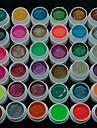 36PCS 반짝이 전원 폴란드어 색상 자외선 젤