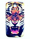 삼성 갤럭시 S4 i9500에 대한 동물 호랑이 패턴 얇은 하드 케이스 커버