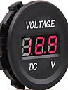 DC 12V-24V автомобиль цифровой привело напряжение электрической вольт тестер индикатор метр монитор