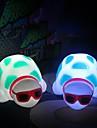 многоцветная черепаха милый дизайн пластиковых ночник (1шт)