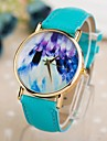 Women's  Abstract Paintings Style PU Band Quartz Watch (Assorted Colors)  Cool Watches Unique Watches