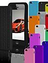 la bande de roulement de cas de silicone souple pour iPhone 4 / 4S (couleurs assorties)