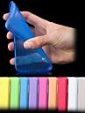 Pour Samsung Galaxy Coque Ultrafine Dépoli Translucide Coque Coque Arrière Coque Couleur Pleine Polycarbonate pour Samsung S5