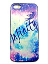 Infinity Galaxy  Pattern Hard Case for iPhone 4/4S