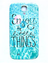 Waves Pattern Thin Hard Case Cover for Samsung Galaxy S4 I9500