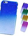 Для Кейс для iPhone 6 Кейс для iPhone 6 Plus Чехлы панели С узором Задняя крышка Кейс для Градиент цвета Твердый PC дляiPhone 6s Plus