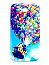 воздушный шар вверх картина тонкая крышка жесткий футляр для Samsung Galaxy s4 мини i9190