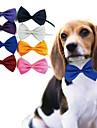 chien élégant cou bowknot cravate pour animaux de compagnie chiens expédition de couleur aléatoire