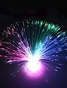 оптический цветок волокна дизайн пластиковых ночник (1шт)