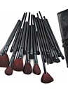 24PCS Makeup Brush with Free Leather Pouch - Professional and Perfect Style