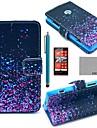 motif nuit de ver luisant cuir PU cas complète du corps de coco avec protecteur d'écran, un stylet et d'éligibilité aux Nokia Lumia n520