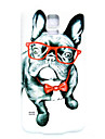 Glasses Dog Pattern Thin Hard Case Cover for Samsung Galaxy S5 I9600
