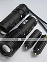 LED Flashlights/Torch / Handheld Flashlights/Torch LED 1000 Lumens 5 Mode XM-L2 T6 18650 / 26650Adjustable Focus / Rechargeable / Impact