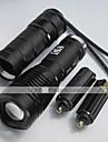 Светодиодные фонари / Ручные фонарики LED 1000 Люмен 5 Режим XM-L2 T6 18650 / 26650Фокусировка / Перезаряжаемый / Ударопрочный /