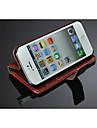 durable cas de l'iphone 5/5 s, noble étui en cuir PU pour iPhone 5 5s, cas CUIR pendant 5s iphone, téléphone portable cas