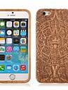 maya capa padrão de totem de madeira para o iPhone 6