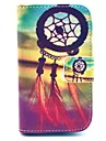 Dream Catcher Pattern PU Leather Cover Case with Stand for Samsung Galaxy Fame S6810