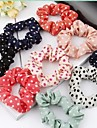 Sweet Candy Color Cloth Art Dot Hair Rope Sinews (Color Random)