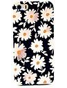 petit étui rigide motif chrysanthème pour iPhone 4 / 4S
