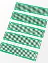 PCB прототип пустой PCB 2 слоев Двухстороннее 2 х 8 см печатную плату (5шт)