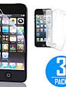 DSB ® Premium высокой проникающей сенсорный точность экран протектор с ткань из микроволокна очистки для IPhone 5/5S/5C (3 шт)