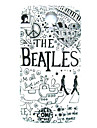 Beatles Pattern Thin Hard Case Cover for Samsung Galaxy S4 Mini I9190