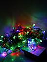 10m 100 leds natal dia das bruxas luzes decorativas festivo tira luzes-ordinária luzes da corda rgb (220v)
