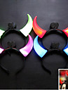 Party Ox Horn Flashing Design Plastic LED Light (Random Color x1pcs)