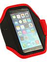 ginástica do esporte correndo braçadeira caso impermeável para iphone 6 (cores sortidas)