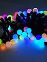 marsing® Рождественские декоративные 5м 8w 50-светодиодной вспышкой Режимы фестиваль мяч партия многоцветные полосы света - (AC110-220V)