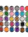 30 Palette Fard à paupières Palette Fard à paupières Poudre Ordinaire Maquillage de Fête