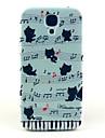 용 삼성 갤럭시 케이스 패턴 케이스 뒷면 커버 케이스 고양이 PC Samsung S4