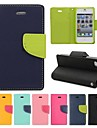 Fashion Color Collision Full Body Case for iPhone 4/4S(Assorted Color)