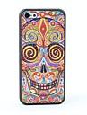 아이폰 5C에 대한 다채로운 두개골 스타일 보호 다시 케이스