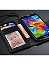 Fashion® noble couvercle du boîtier de portefeuille avec fente pour carte pour les Samsung Galaxy S i9600