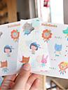 Cartoon PVC Scrapbooking Decorate Stickers(2PCS)