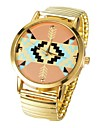 New Fashion Gold Watch  Women's watch Personality Stripes
