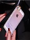 우아한 아이폰 6에 대한 다이아몬드 프레임 장식