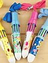 мультфильм шаблон 10 цветов автоматическая шариковая ручка (случайный цвет)