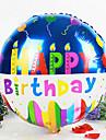 круглый С Днем Рождения алюминиевую мембрану душа ребенка день рождения шар (случайный цвет)