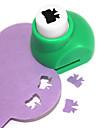 ferramenta de corte diy mini-metal padrão bowknot soco (cor aleatória)