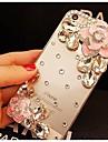 elegante, decorado com camellia diamante para iphone 6 (cores sortidas)