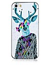 David's Deer Pattern Black Frame Back Case for iPhone 5/5S