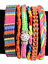Bohemian Style HIPANEMA Multicolor Friendship Bracelet