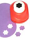 поделки режущий инструмент мини металла цветка сливы картины пунш (случайный цвет)