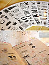 Дневник скрапбукинга декоративные наклейки башня воздушный шар (6шт)