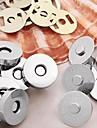 круглой формы кошелек сплава / сумки магнитной застежкой ленты (10sets)
