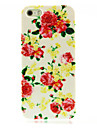 Rose Flower Pattern Hard Case for iPhone 4/4S